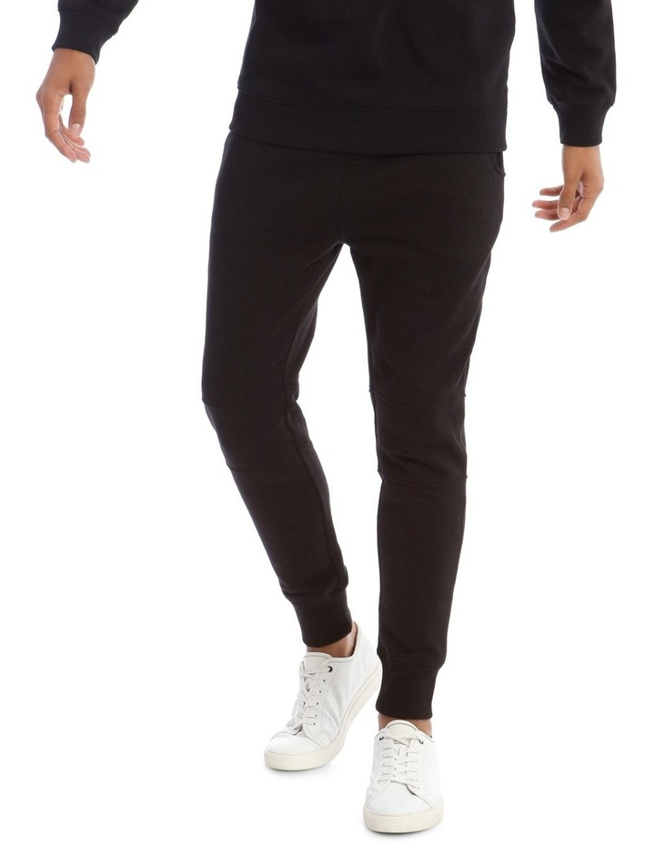 T-Bone Tracksuit Pant in Black image 1