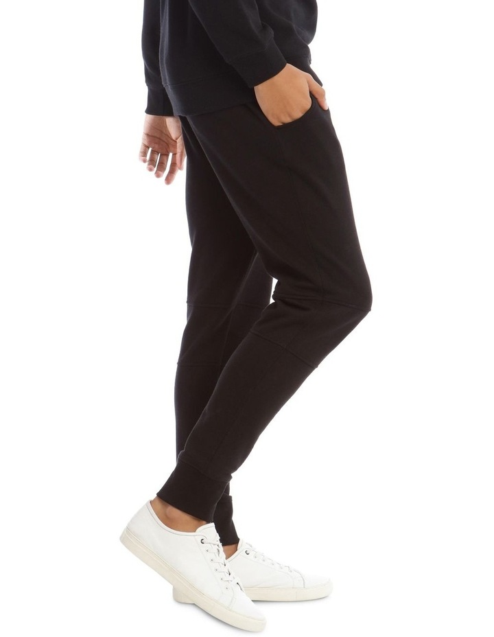 T-Bone Tracksuit Pant in Black image 2