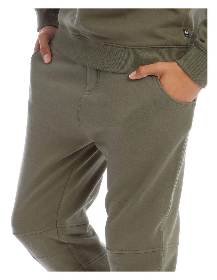 T-Bone Tracksuit Pant in Khaki image 4