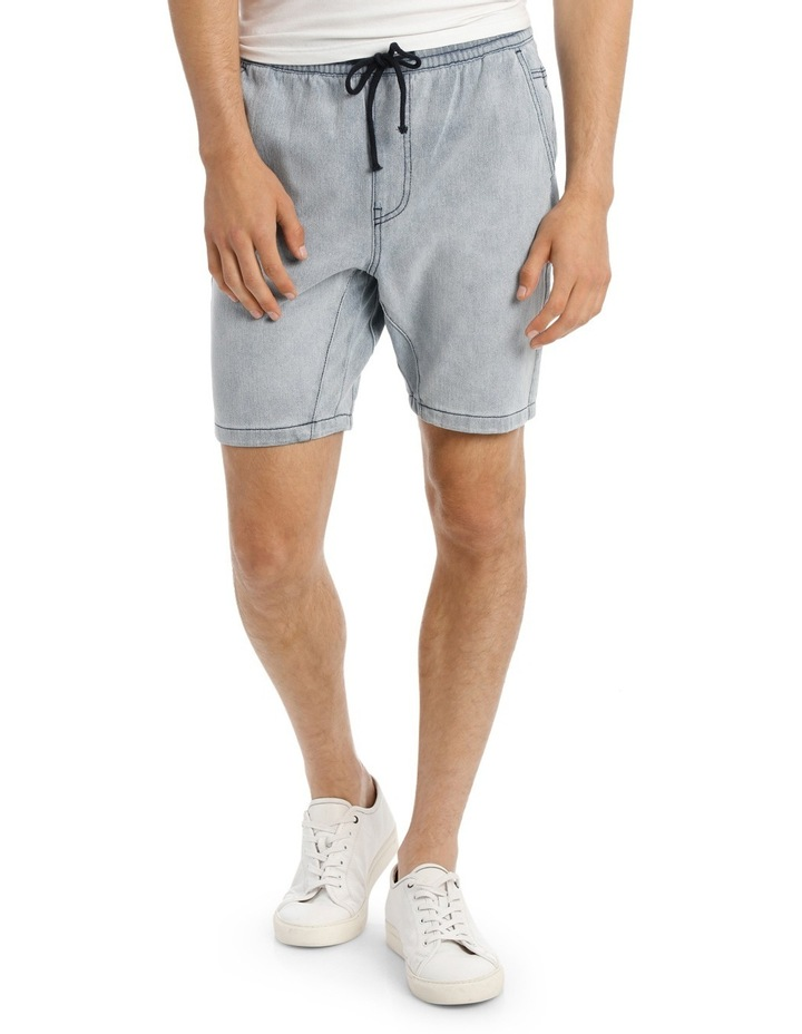 Circa Pull On Knit Denim Short image 1