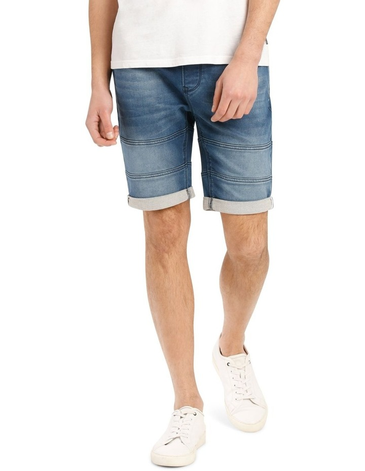 Malfoy Pull On Knit Denim Short image 1
