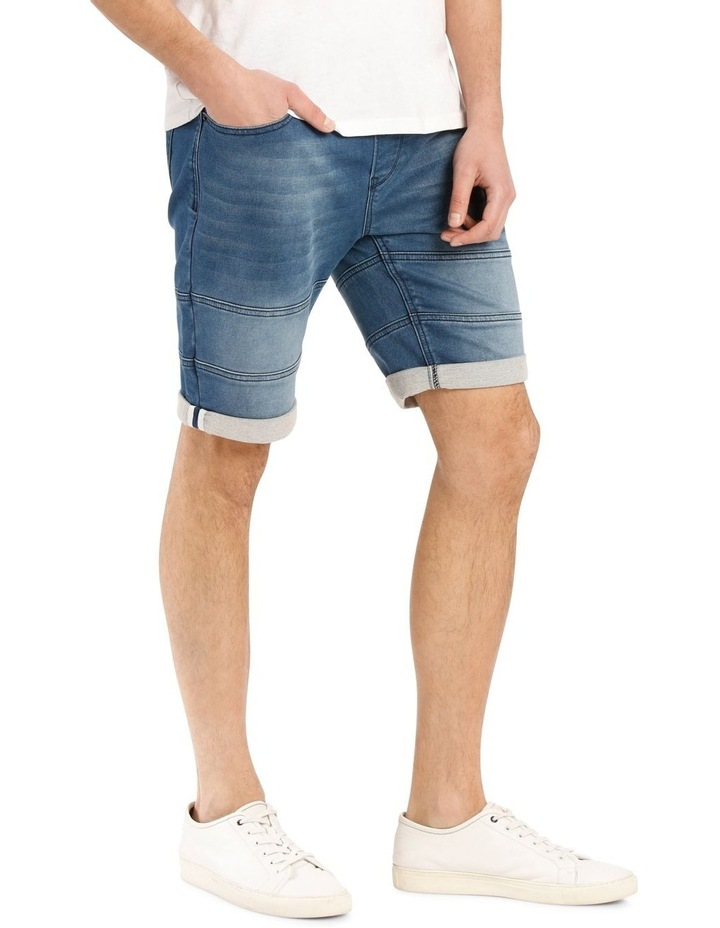 Malfoy Pull On Knit Denim Short image 2
