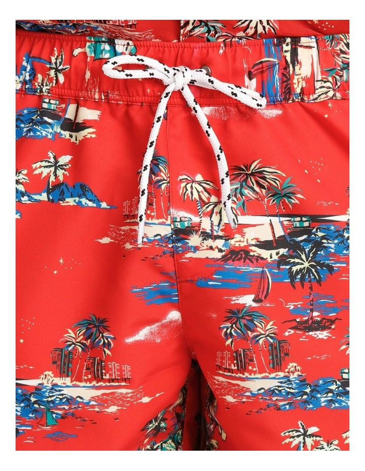 Hawaiian Xmas Print Volley Short image 4