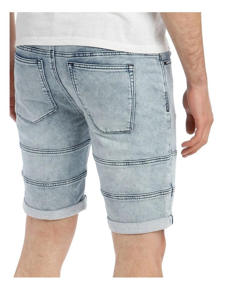 Mohan Pull On Knit Denim Short image 4