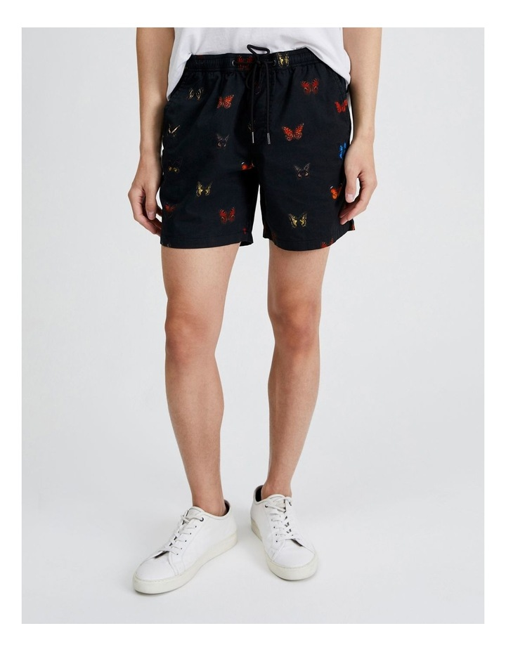 Butterfly Print Volley Short image 1
