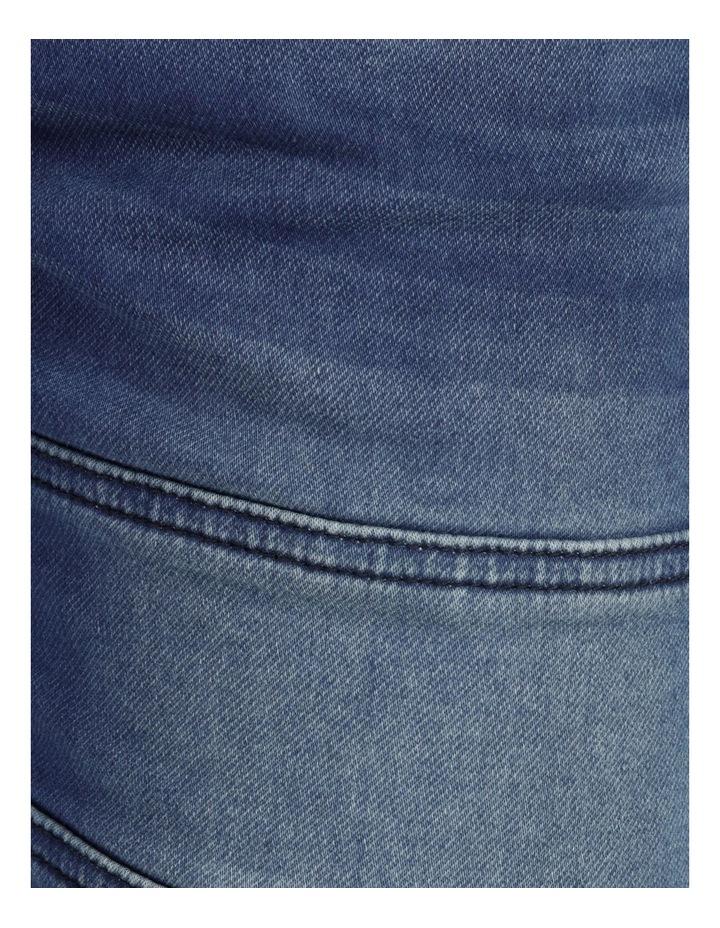 Khong Pull On Knit Denim Short Denim image 7