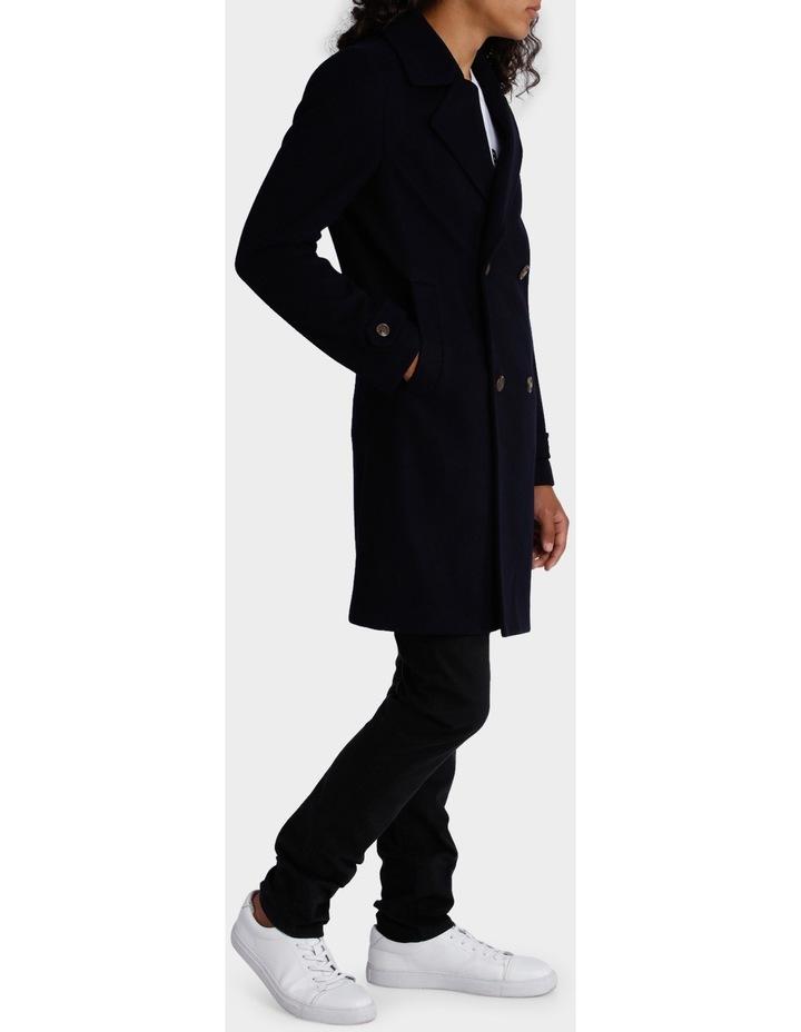 Berners Long-Line Melton Coat image 2