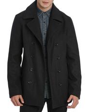 Kenji - Wardour Melton Pea Coat
