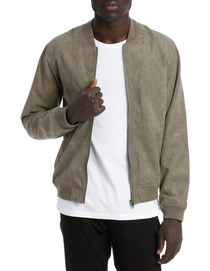 Travis Sueded Bomber Jacket image 1