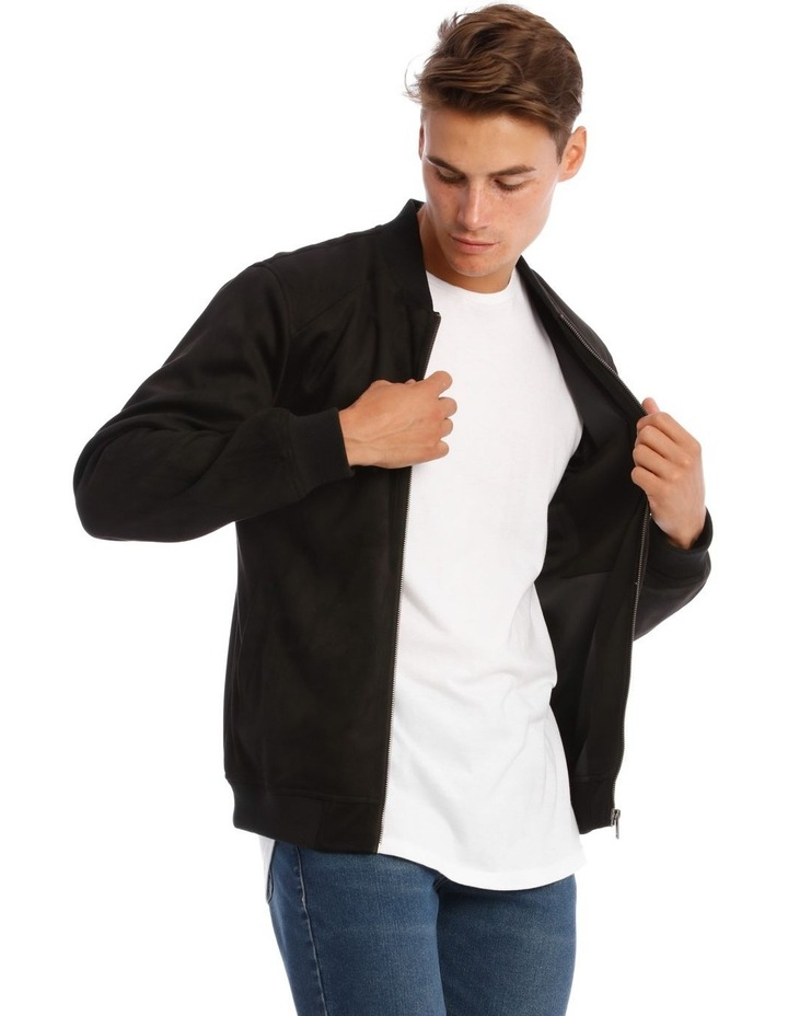 Travis Sueded Bomber Jacket image 2