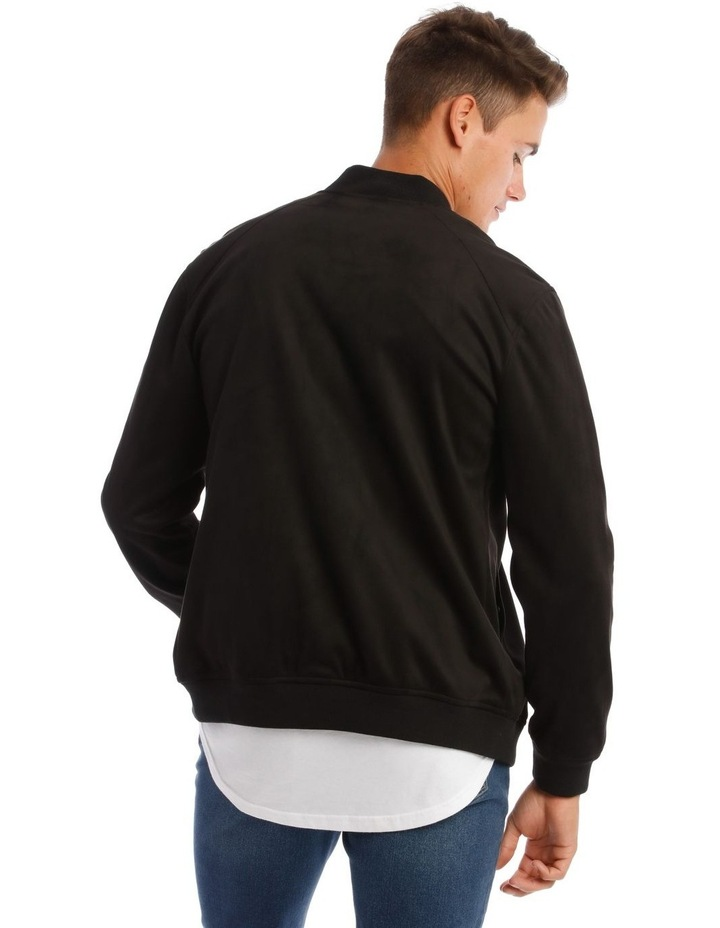 Travis Sueded Bomber Jacket image 3