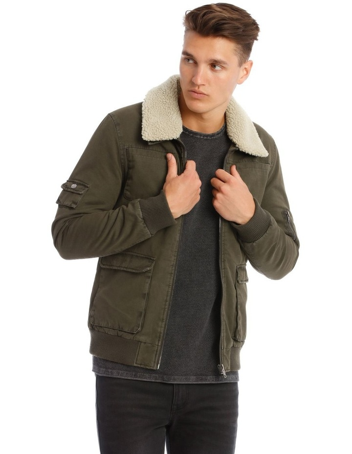 Black Hawk Utility Bomber Jacket image 1