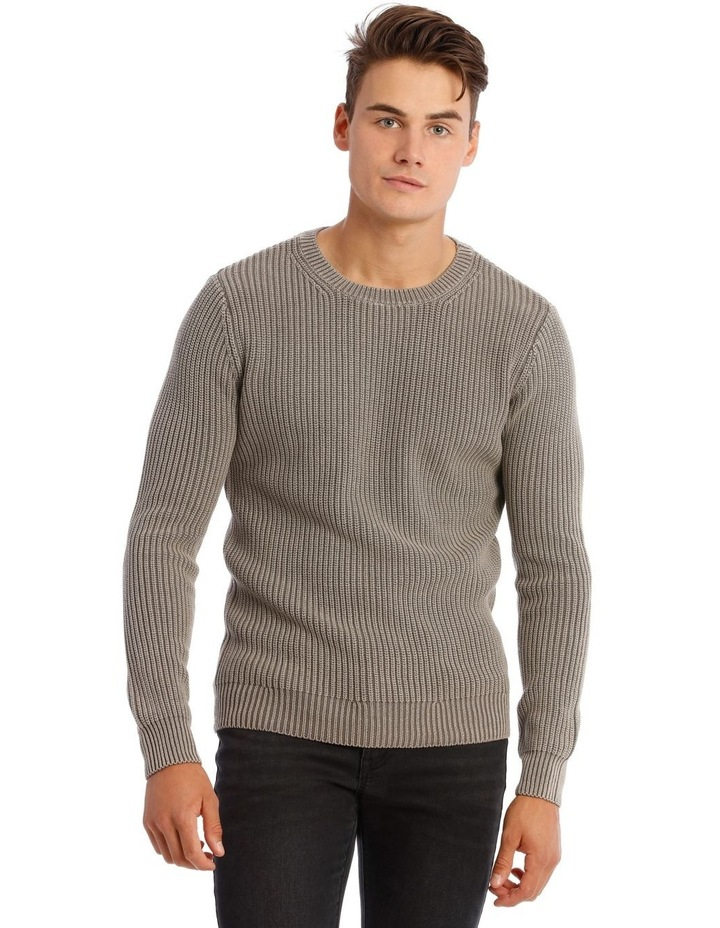 Merlin Fisherman Rib Knit image 1