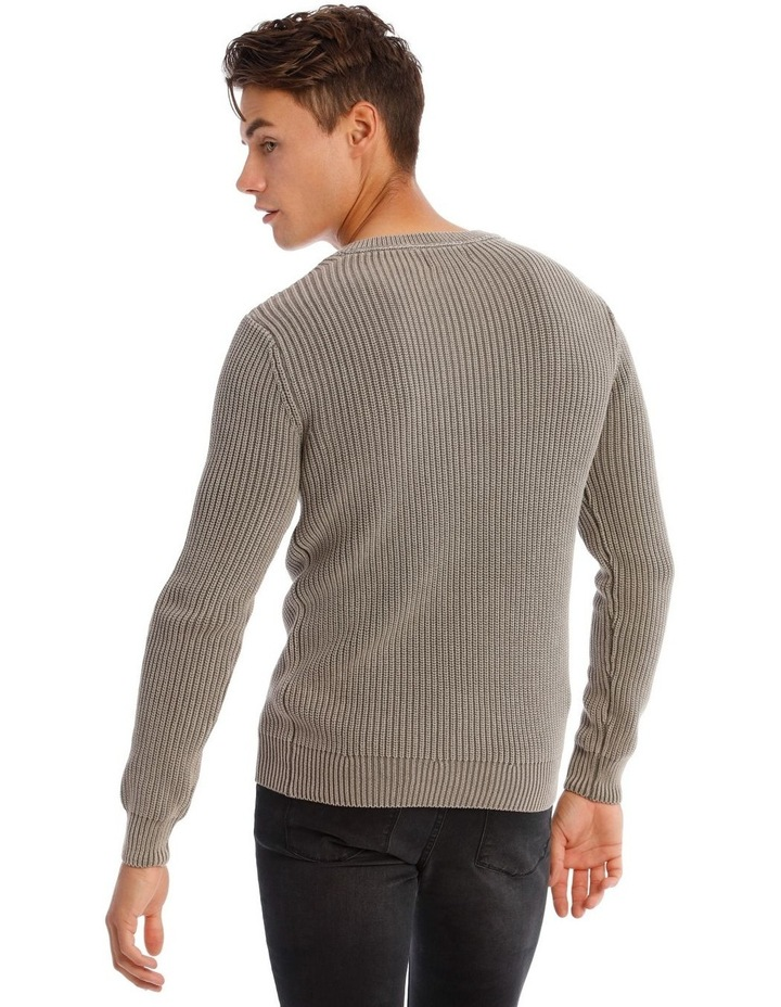 Merlin Fisherman Rib Knit image 3