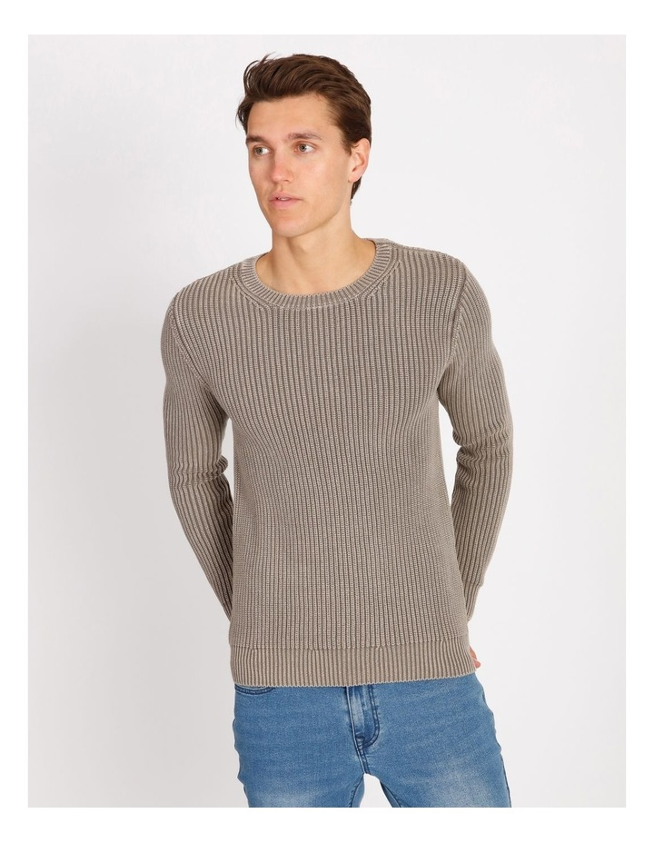 Dazza Fisherman Rib Knit Pullover image 1