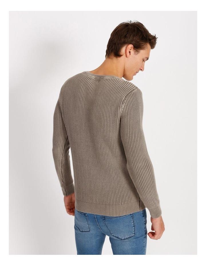 Dazza Fisherman Rib Knit Pullover image 3