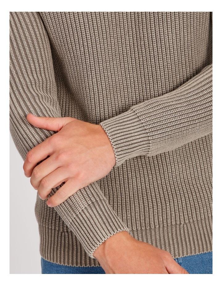 Dazza Fisherman Rib Knit Pullover image 4