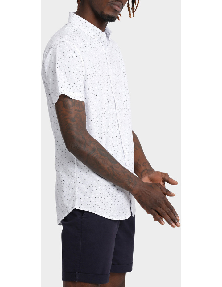 Beauchamp Micro Print Short Sleeve Shirt image 2