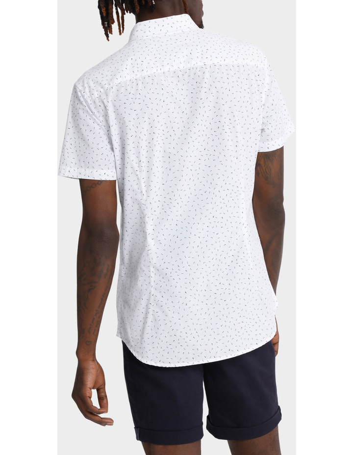 Beauchamp Micro Print Short Sleeve Shirt image 3