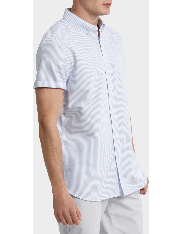 Bromolla Short Sleeve Relaxed Fit Striped Shirt image 2