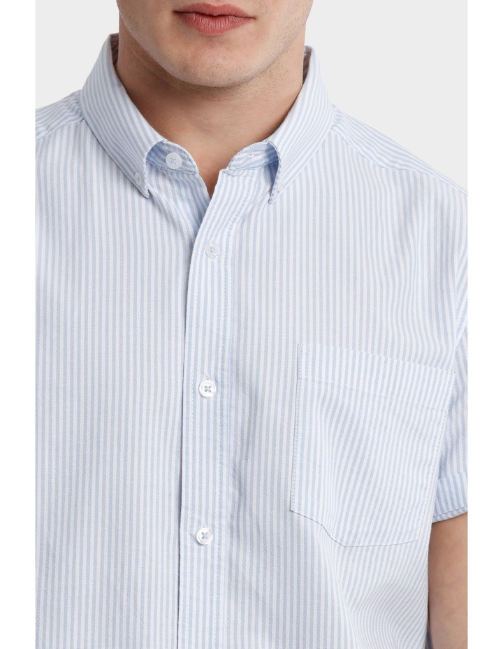 Bromolla Short Sleeve Relaxed Fit Striped Shirt image 4
