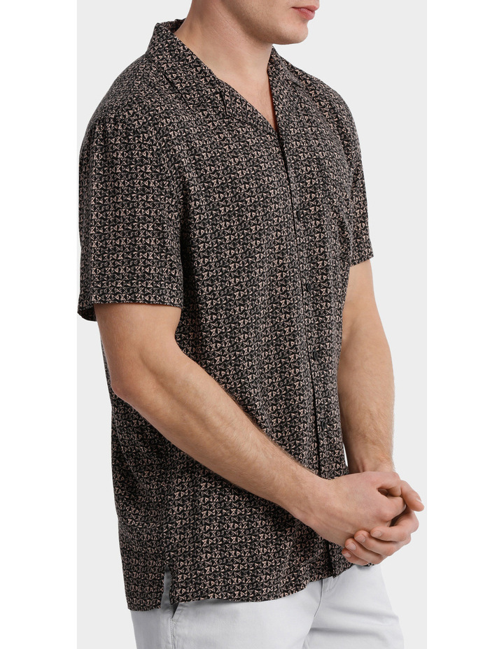 Parlour Abstract Rayon Relaxed SS Shirt image 2