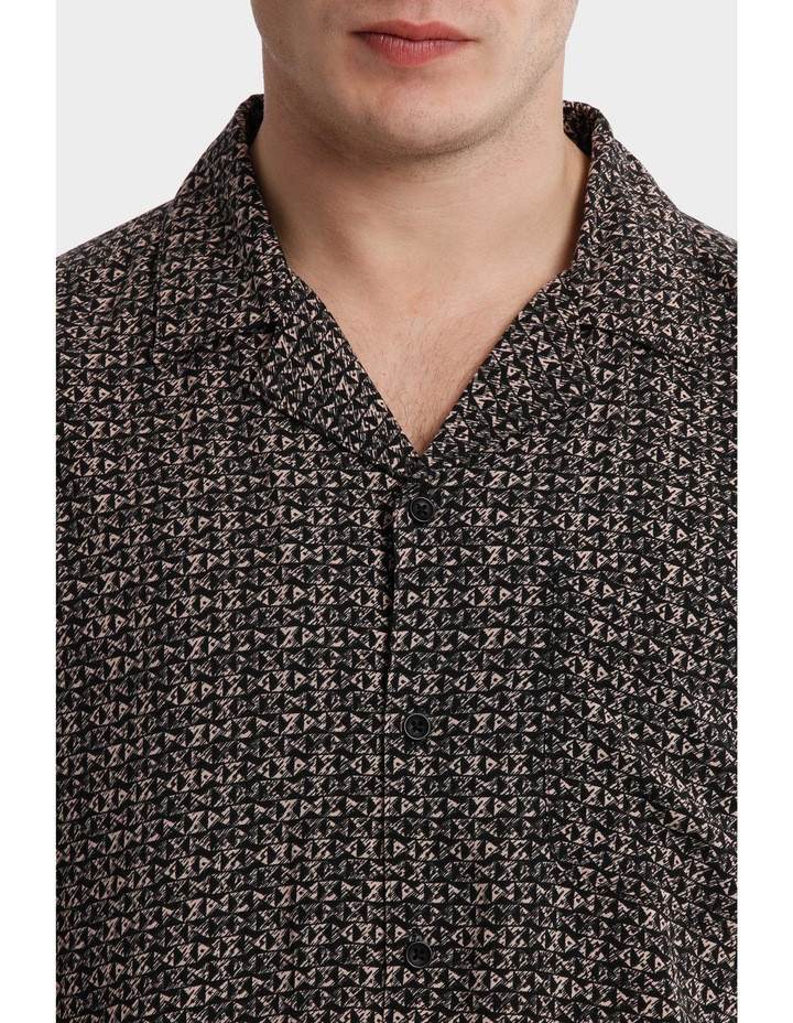 Parlour Abstract Rayon Relaxed SS Shirt image 4
