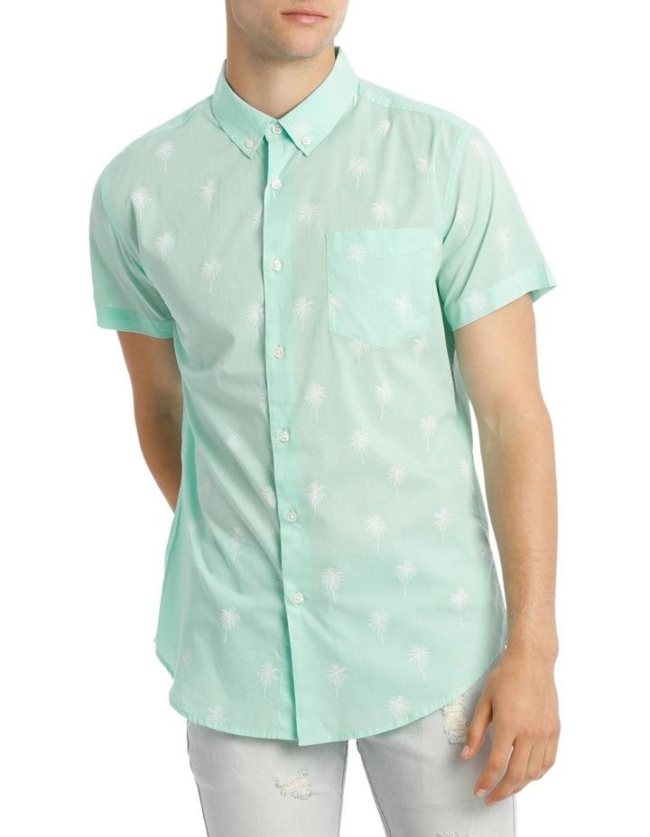 Dempsey Palm Print Short Sleeve Shirt image 1