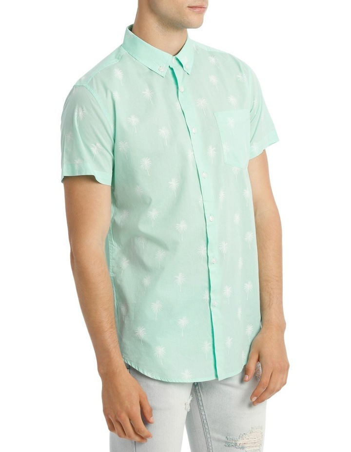 Dempsey Palm Print Short Sleeve Shirt image 2