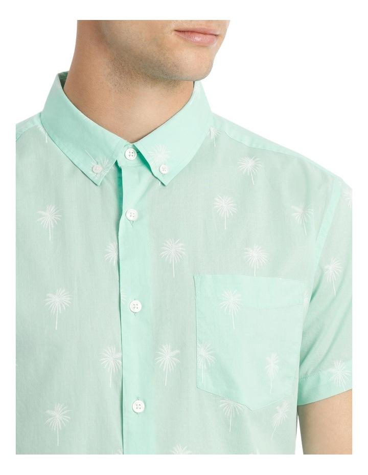Dempsey Palm Print Short Sleeve Shirt image 4