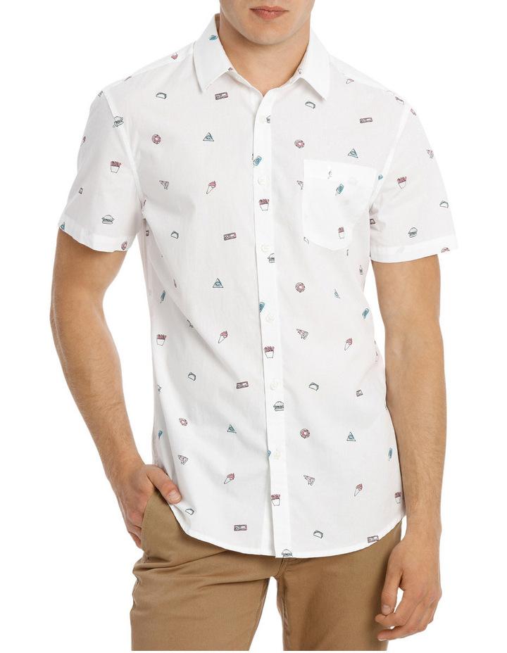 Major Food Group Short Sleeve Print Shirt image 1