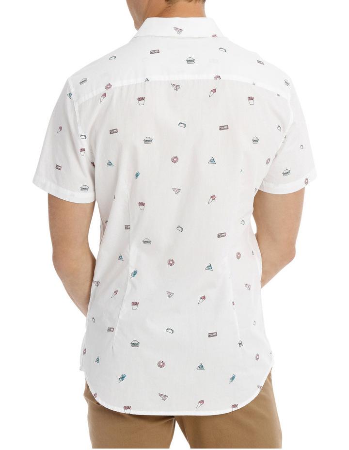 Major Food Group Short Sleeve Print Shirt image 3