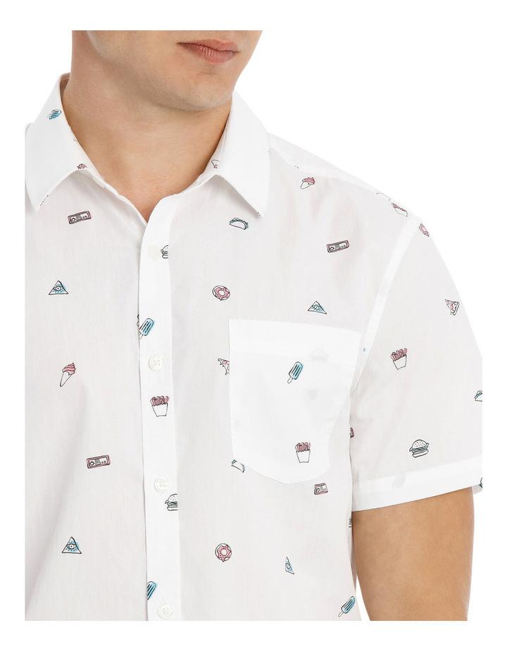 Major Food Group Short Sleeve Print Shirt image 4