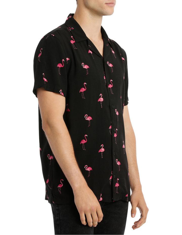 Broderick Flamingo Rayon Shirt image 2