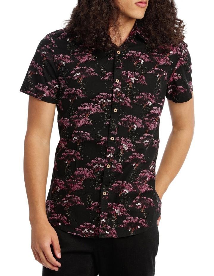 Sakura Print Shirt image 1