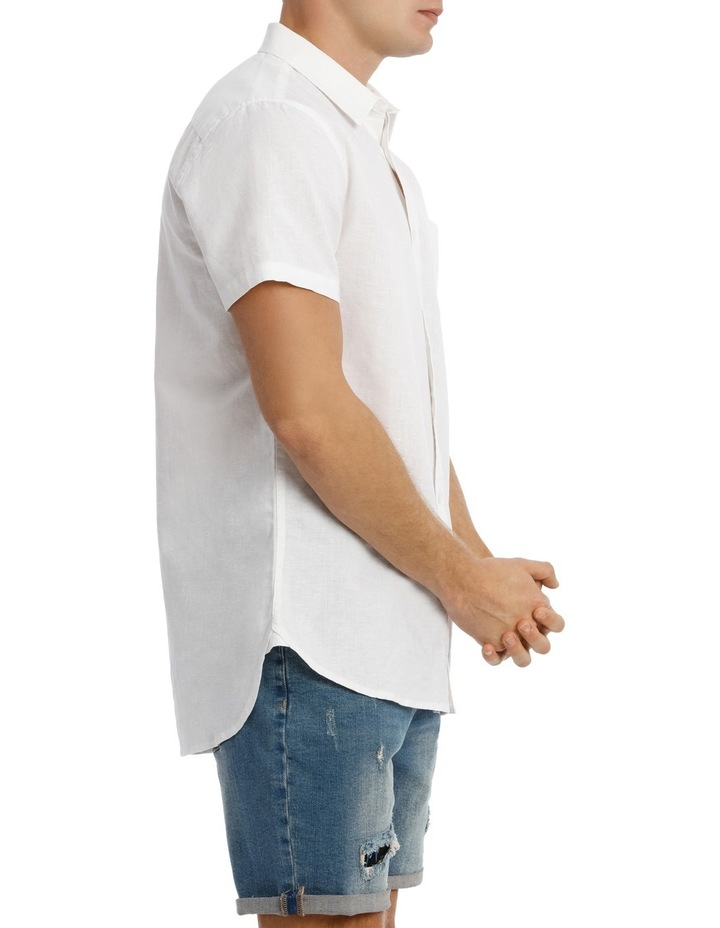 Trent Short Sleeve Linen Blend Shirt image 2