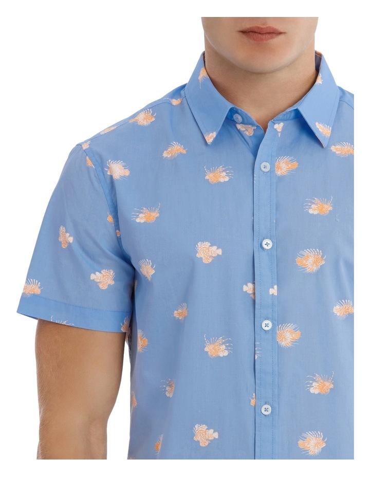 Dragon Fish Short Sleeve Print Shirt image 4