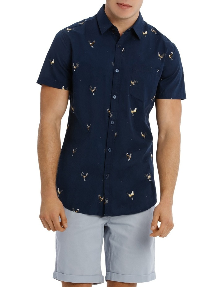 Rooster Island Short Sleeve Print image 1