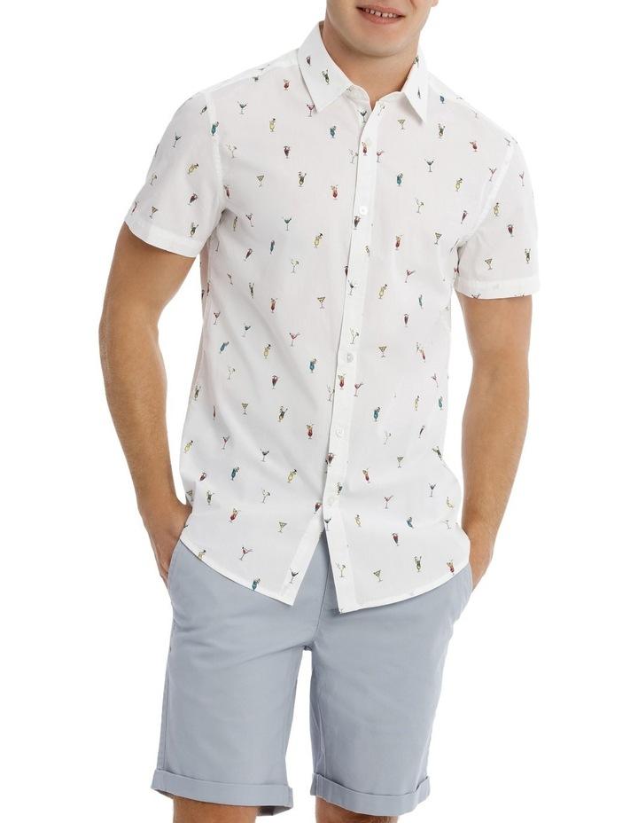 Tequila Sunrise Short Sleeve Print Shirt image 1
