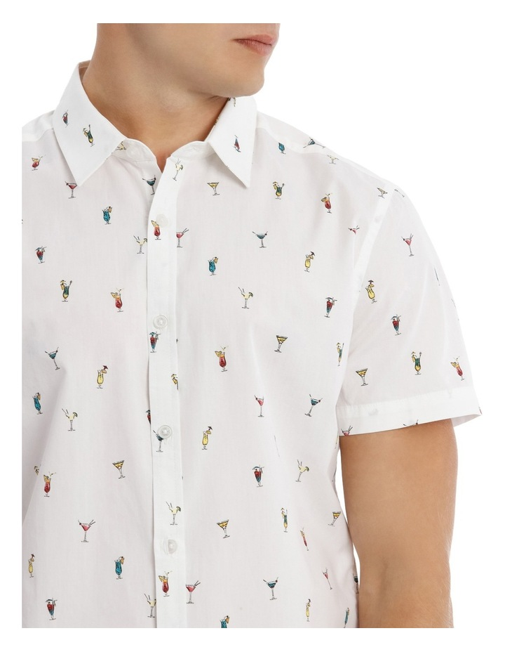 Tequila Sunrise Short Sleeve Print Shirt image 4