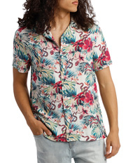 Jungle Book Short Sleeve Rayon Shirt