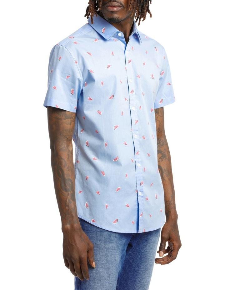 Sangria Melon Shortsleeve Print Shirt image 2