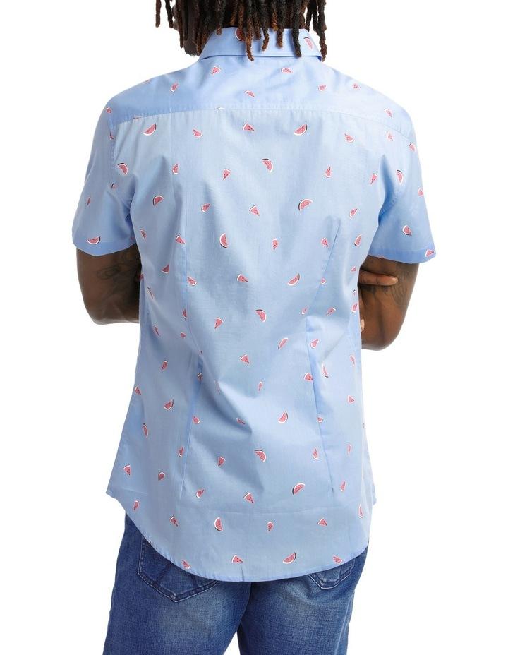 Sangria Melon Shortsleeve Print Shirt image 3