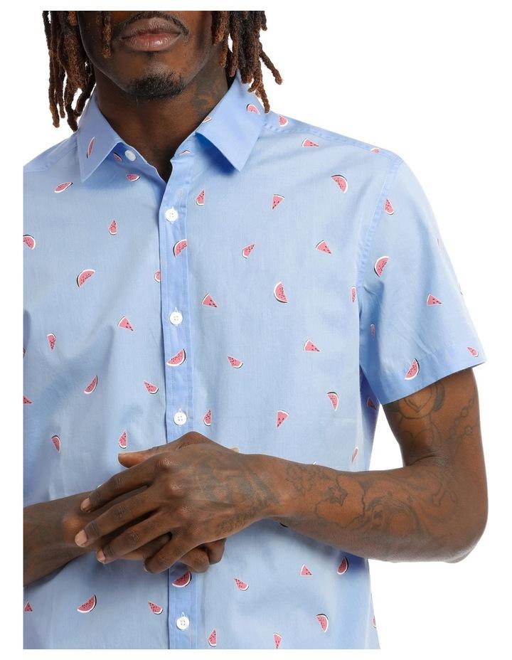 Sangria Melon Shortsleeve Print Shirt image 4