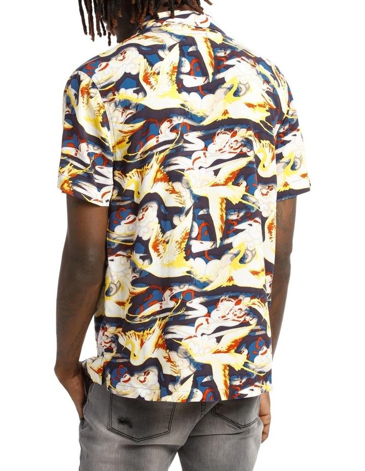 Stolen Crane Shortsleeve Rayon Shirt image 3