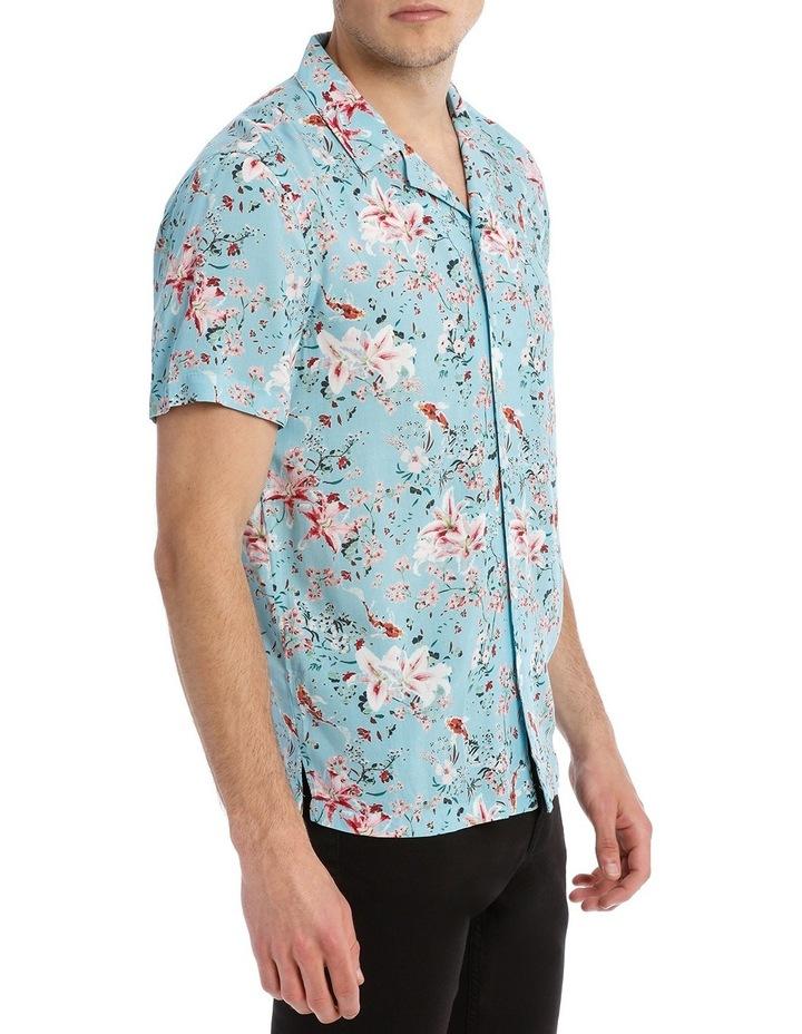 Koi Garden Short Sleeve Rayon Shirt image 2
