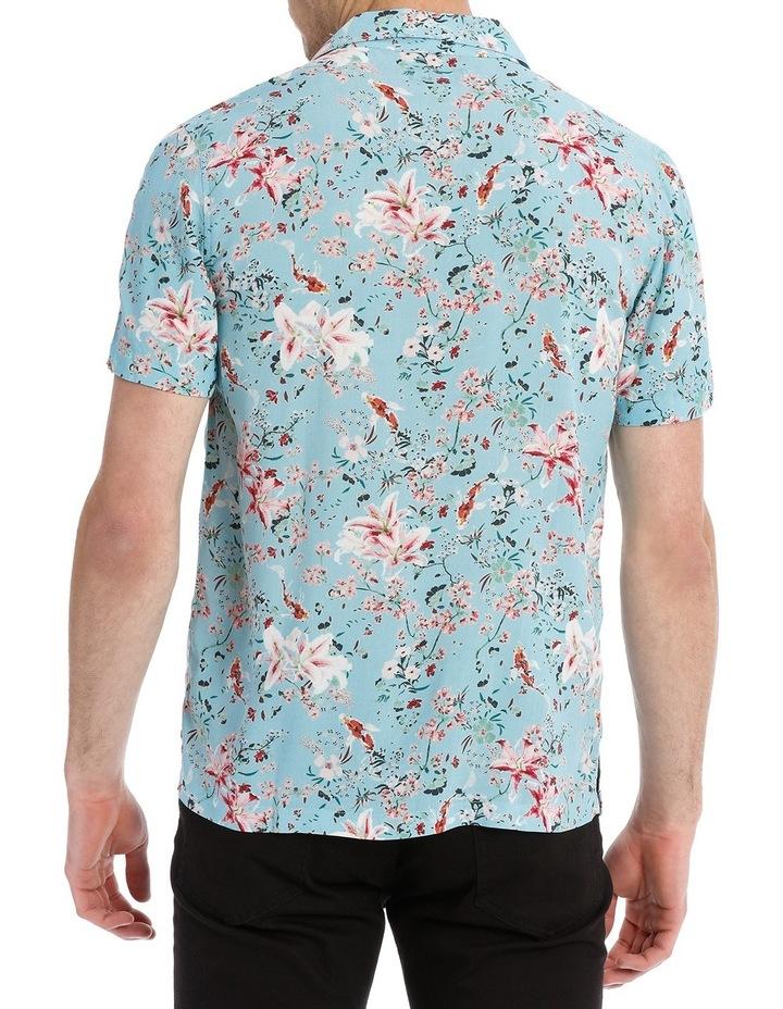 Koi Garden Short Sleeve Rayon Shirt image 3