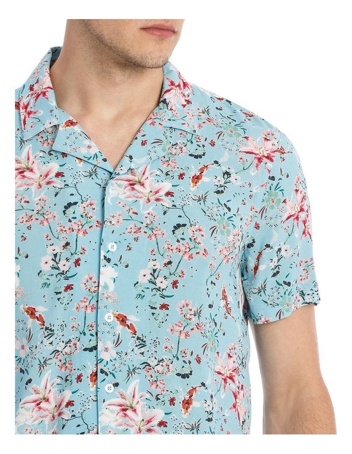 Koi Garden Short Sleeve Rayon Shirt image 4