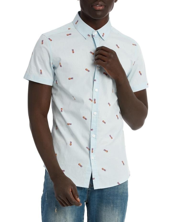 Pineapple Cocktail Shortsleeve Print Shirt image 1