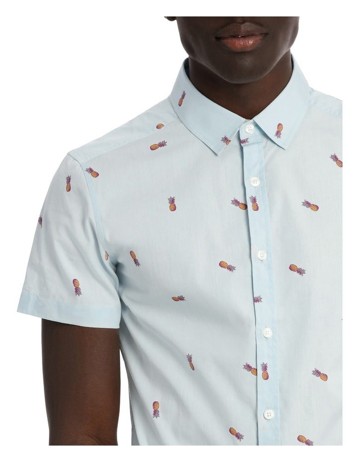 Pineapple Cocktail Shortsleeve Print Shirt image 4